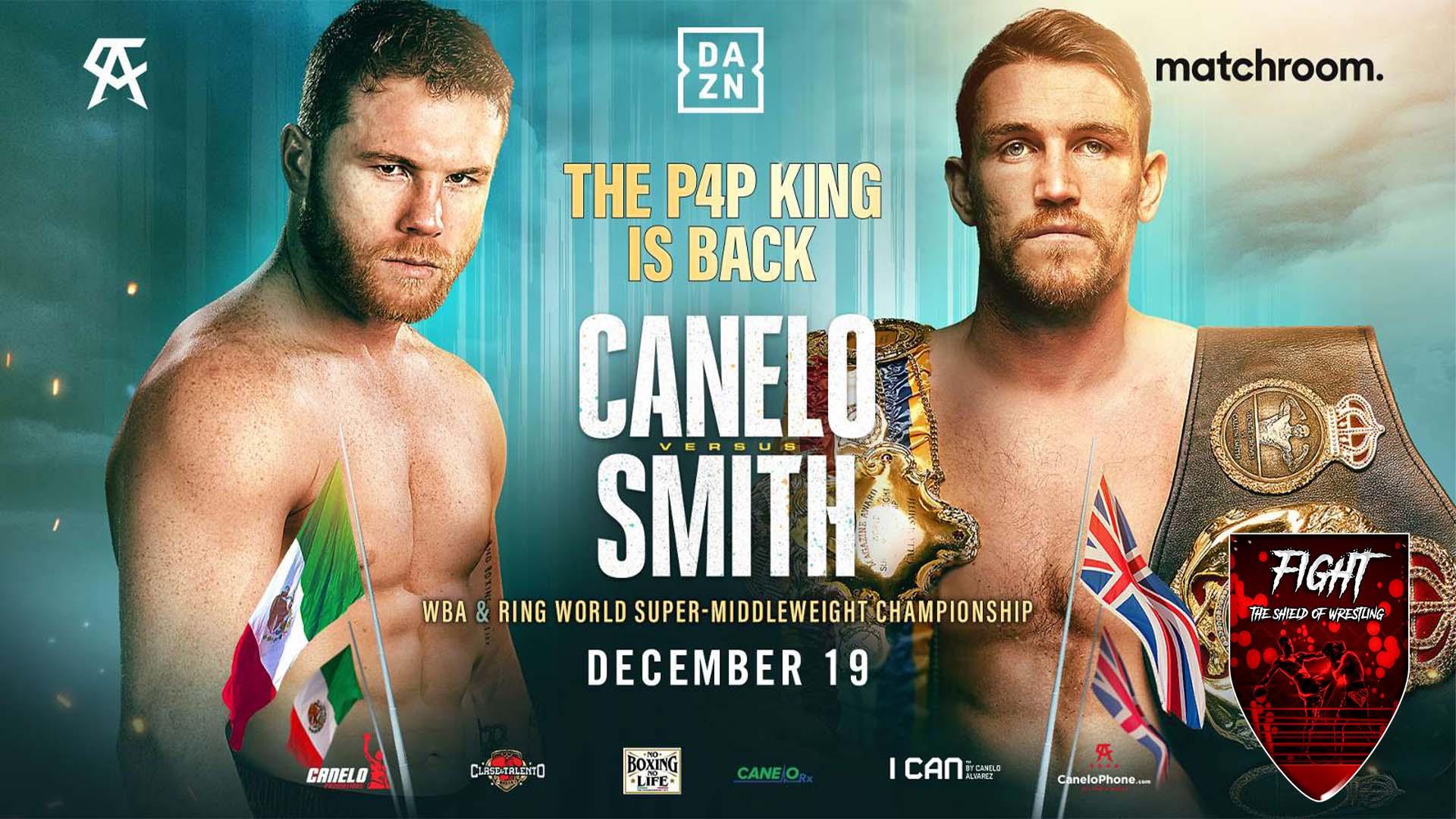Canelo Alvarez vs Callum Smith: i risultati dell'evento