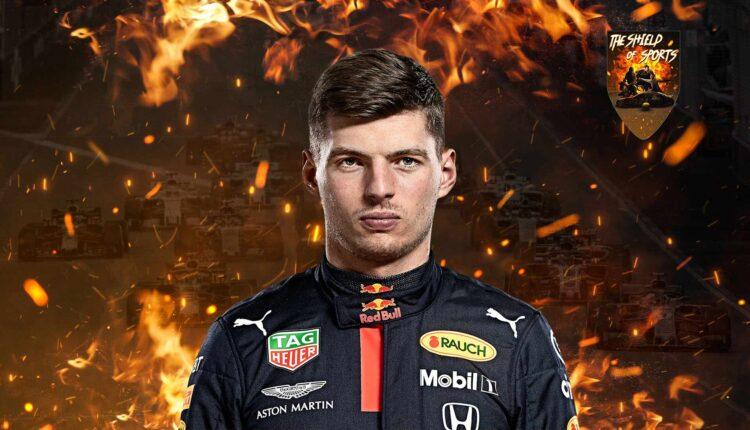 Max Verstappen tranquillizza i fan dopo l'incidente