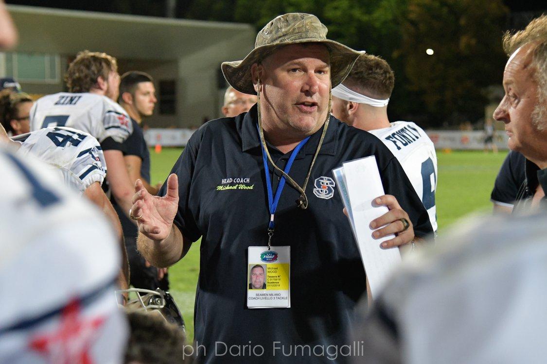 Michael Wood è sicuro di poter ripetere una grande stagione con i Seaman Milano
