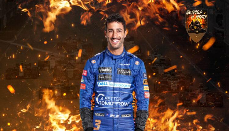 Daniel Ricciardo partirà dal fondo della griglia