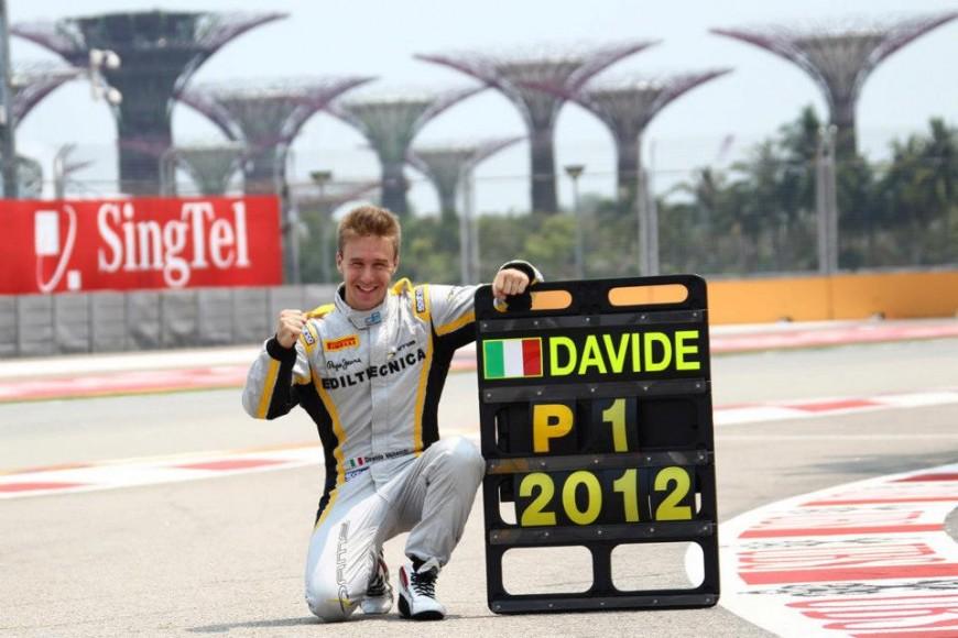 Davide Valsecchi campione del mondo GP2 nel 2012