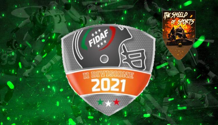 Seconda Divisione FIDAF 2021: Tutti i risultati della Week 8