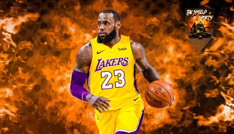 LeBron James torna a vestire il numero 6