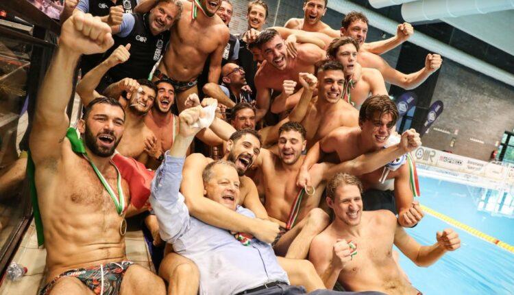 AN Brescia campione d'Italia 2020/2021 nella pallanuoto