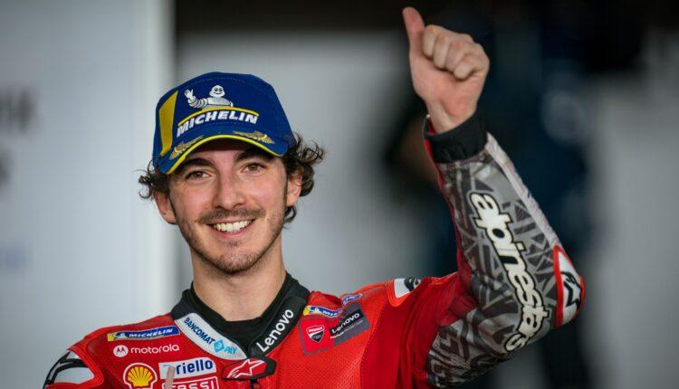 Francesco Bagnaia commenta la sua vittoria in MotoGP