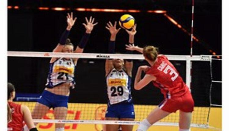 Nazionale femminile perde al Volleyball Nations League 2021