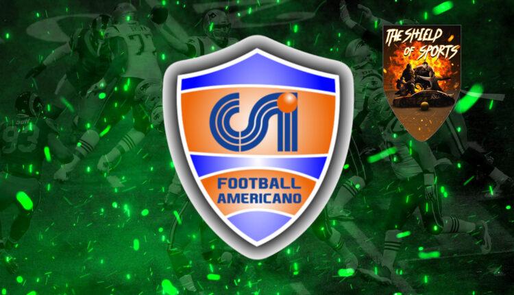 CSI Football Americano: I risultati dei primi bowl del 5-Men 2021
