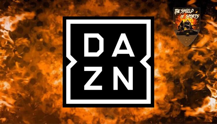 DAZN aumenta la propria tariffa da questo mese
