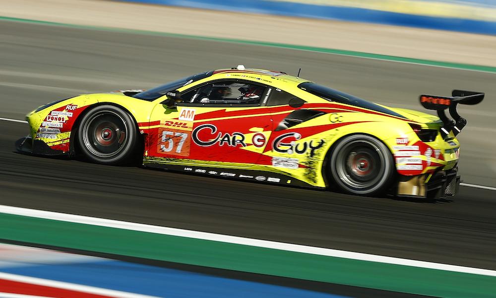 La Ferrari Kessel Racing impegnata nella 8 ore di Portimao