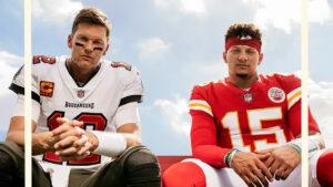 Tom Brady e Patrick Mahomes sulla copertina del nuovo Madden (Crediti della foto: EA Sports)