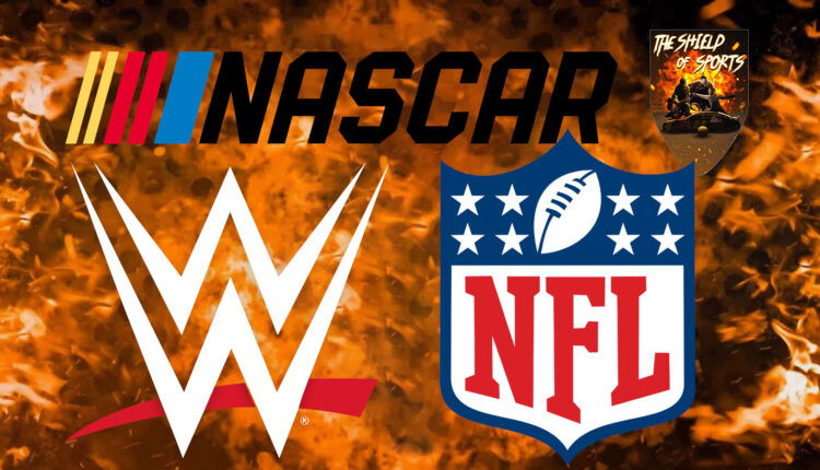 WWE: in arrivo un crossover con NFL e NASCAR?