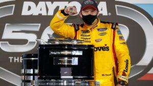 Michael McDowell esulta a Daytona (Crediti della foto: Getty Images)