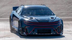 Il prototipo ibrido della NASCAR Next Gen (Crediti della foto: NASCAR)