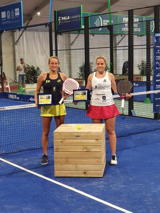 1° Trofeo Città di Lecce conclusosi con Chiara Pappacena e Giorgia Marchetti vittoriose