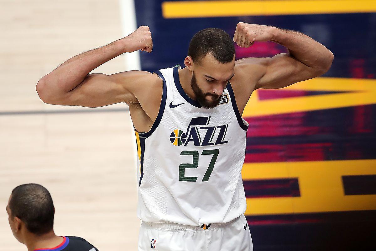 Rudy Gobert ha aiutato Mitchell a portare i Jazz ai Playoffs NBA 2021
