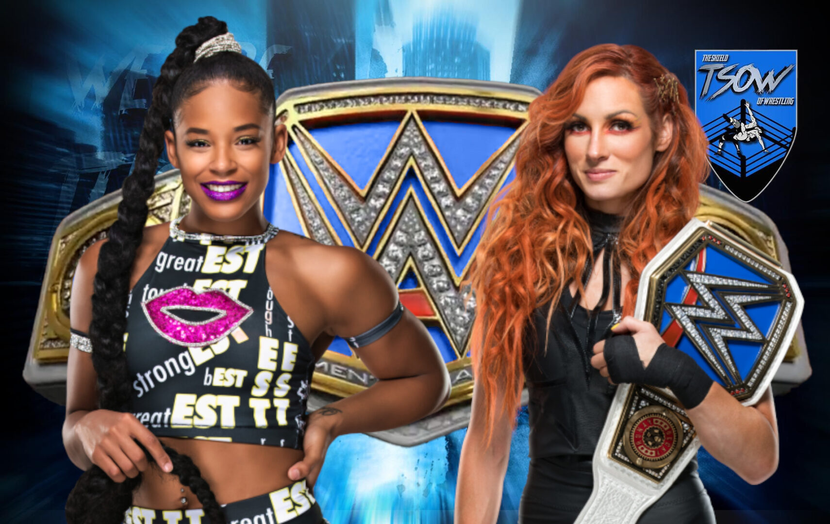 Becky Lynch vs Bianca Belair ufficiale per Extreme Rules