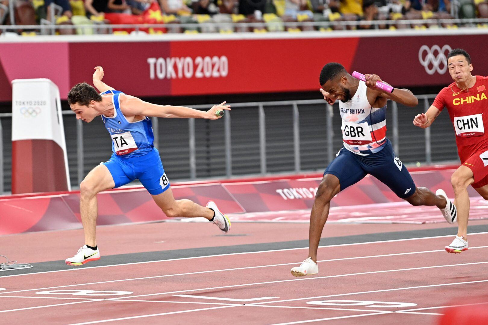 Atletica, la Gran Bretagna perderà l'argento della 4x100