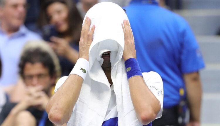 US Open: Medvedev vince e Djokovic è in lacrime