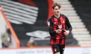 David Brooks con la maglia del suo club (Crediti: Bournemouth Echo)