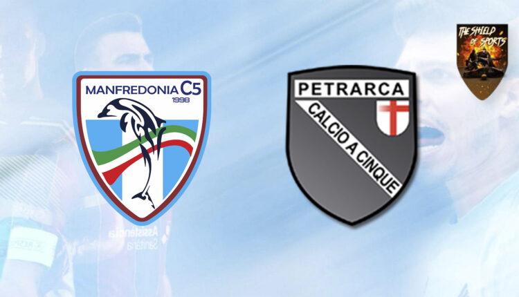 Manfredonia C5 battagliero ma vince il Syn-Bios Petrarca